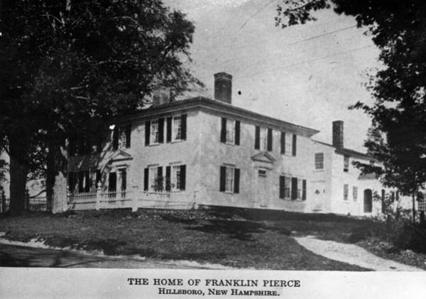 New Hampshire Photograph - Presidents House by Hulton Archive