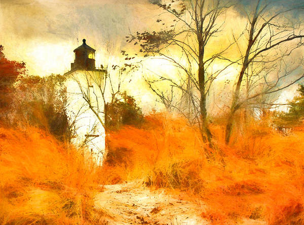 Wall Art - Photograph - Presque Isle Lighthouse by Susan Hope Finley