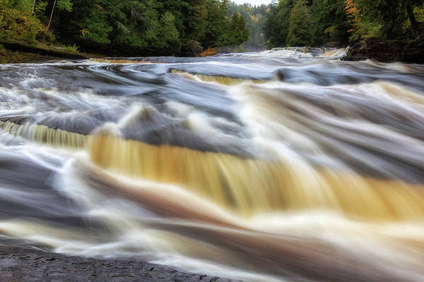 Photograph - Presque Isle River 2 by Heather Kenward