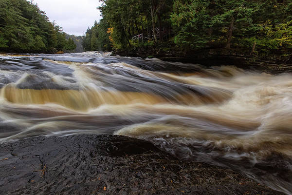 Photograph - Presque Isle River 4 by Heather Kenward