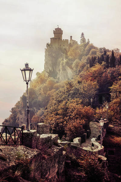 Wall Art - Photograph - Pretty Autumn Morning In San Marino by Jaroslaw Blaminsky