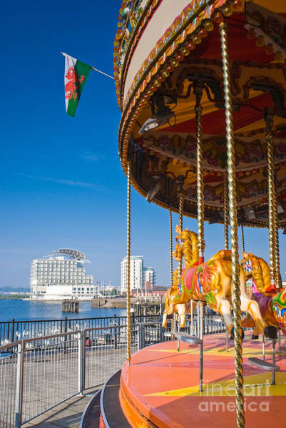 Carousels Photograph - Pretty Carousel Overlooking Slick by Matthew Dixon