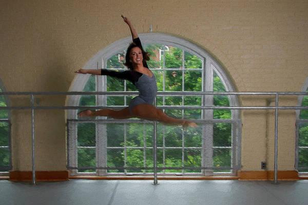 Photograph - Pretty Dancer Jumping by Dan Friend