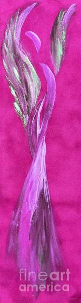 Wall Art - Painting - Pretty In Pink by Tracy Ann Delfar