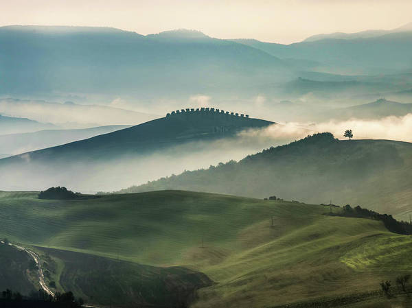 Photograph - Pretty Morning In Toscany by Jaroslaw Blaminsky