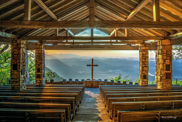 Wall Art - Photograph - Pretty Place Chapel The Son Has Risen 2 Blue Ridge Mountain Art by Reid Callaway