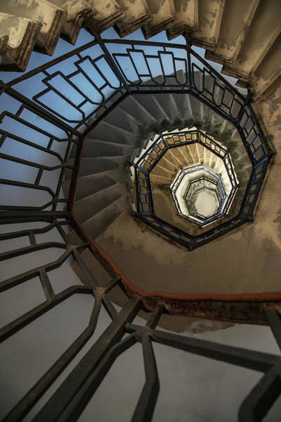 Wall Art - Photograph - Pretty Spiral Staircase by Jaroslaw Blaminsky