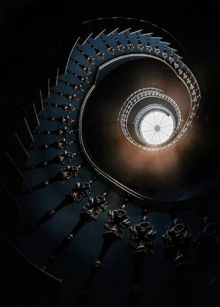 Photograph - Pretty Staircase In The Old Tower by Jaroslaw Blaminsky
