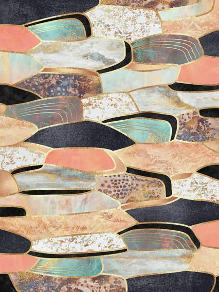 Fruit Digital Art - Pretty Stone by Elisabeth Fredriksson