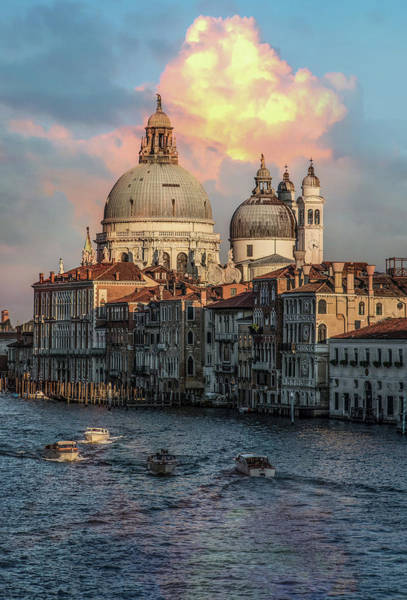 Venezia Wall Art - Photograph - Pretty Sunrise In Venice by Jaroslaw Blaminsky