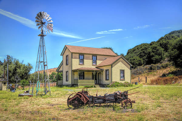Photograph - Price Homestead Pismo Beach by Floyd Snyder
