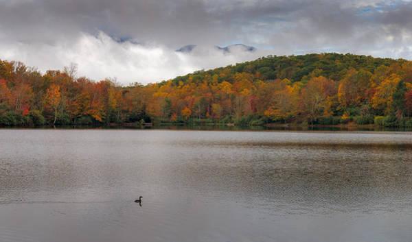 Price Lake Autumn - Grandfather Mountain - Blue Ridge Parkway Art Print