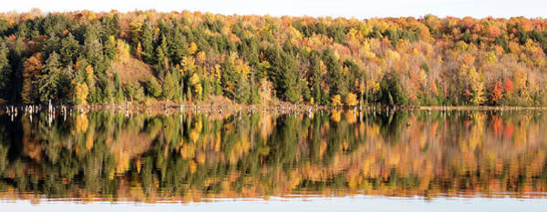 Photograph - Prickett Reservoir Fall Colors  10171701 by Rick Veldman
