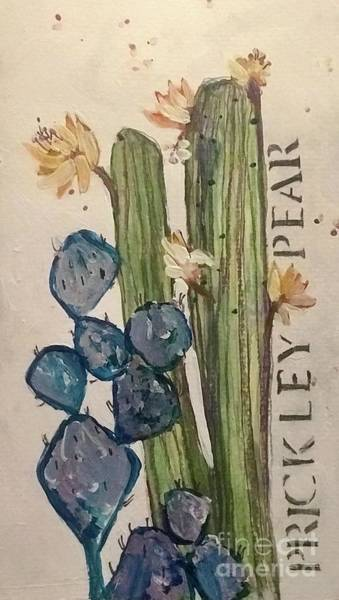 Painting - Prickley Pear by Sherry Harradence