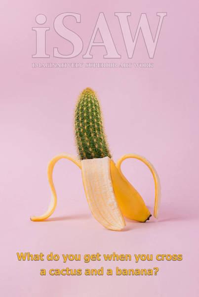 Digital Art - Prickly Banana by ISAW Company