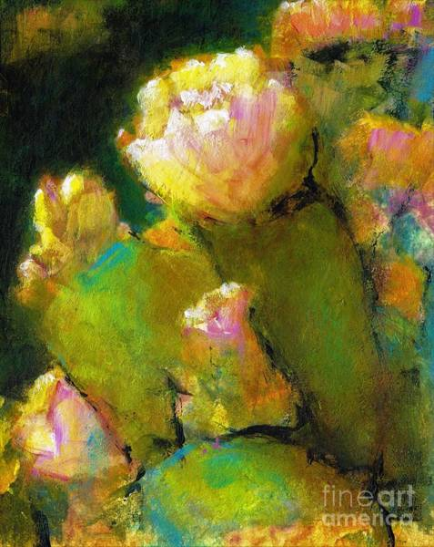 Painting - Prickly Pear Time by Frances Marino