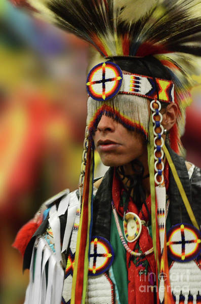 Wall Art - Photograph - Pride Of Indigenous Culture 12 by Bob Christopher