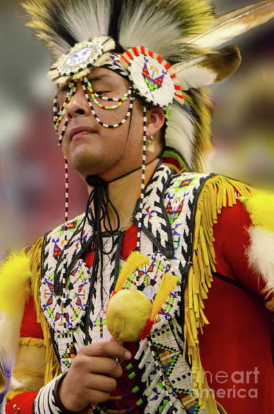 Wall Art - Photograph - Pride Of Indigenous Culture 13 by Bob Christopher