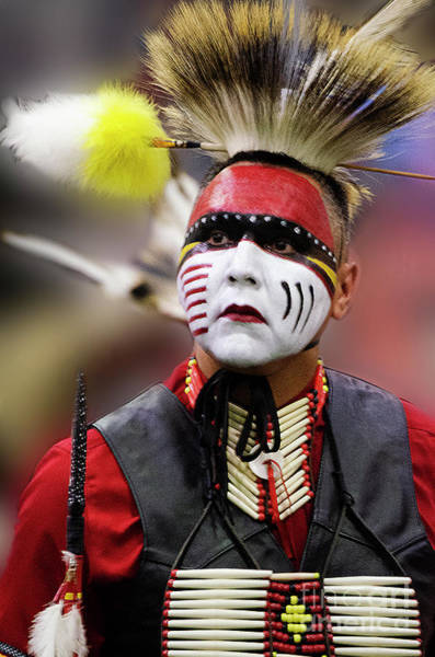 Wall Art - Photograph - Pride Of Indigenous Culture 2 by Bob Christopher