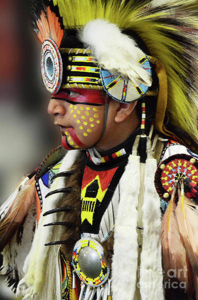Wall Art - Photograph - Pride Of Indigenous Culture 6 by Bob Christopher