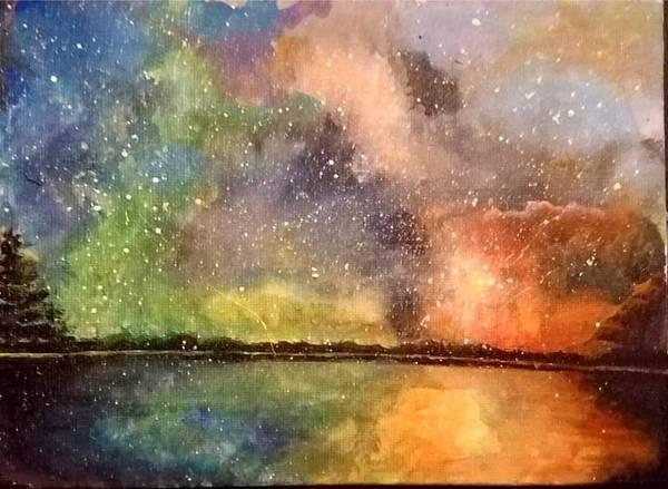 Wall Art - Painting - Pride Sky by Raven Rugh