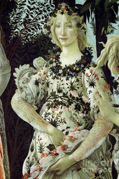 Wall Art - Painting - Primavera, Detail by Sandro Botticelli