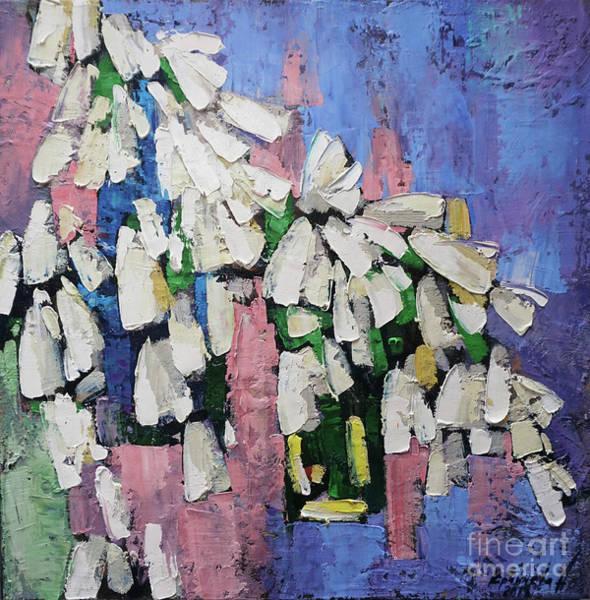 Snowdrop Painting - Primrose by Anastasija Kraineva