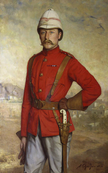 Prince Arthur Painting - Prince Arthur, Duke Of Connaught, 1882 by Carl Rudolph Sohn