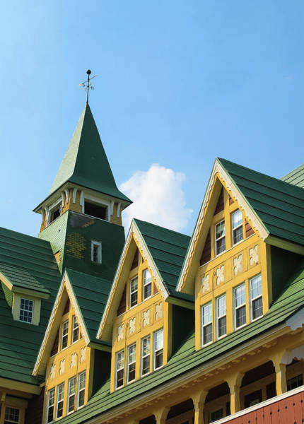 Photograph - Prince Of Wales Hotel Gables And Steeple by Ola Allen