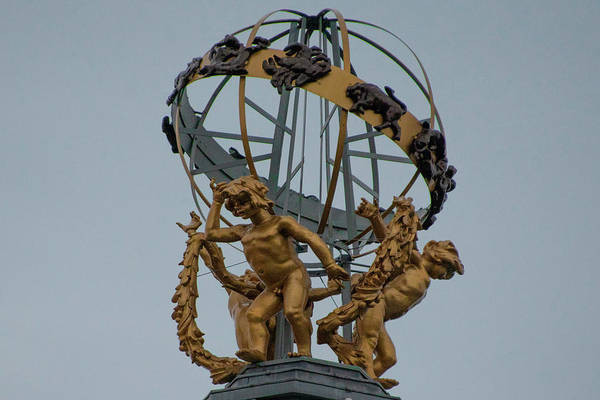 Photograph - Princes Street Forsyth Sphere - Edinburgh Scotland by Bill Cannon