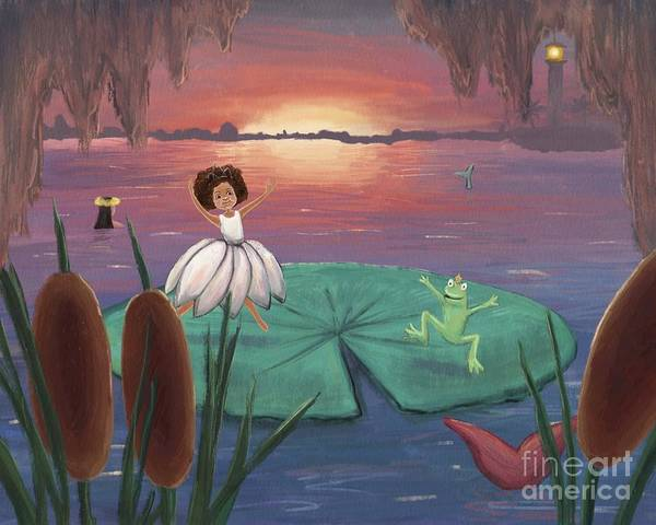 Digital Art - Princess And Frog by Athena Lutton
