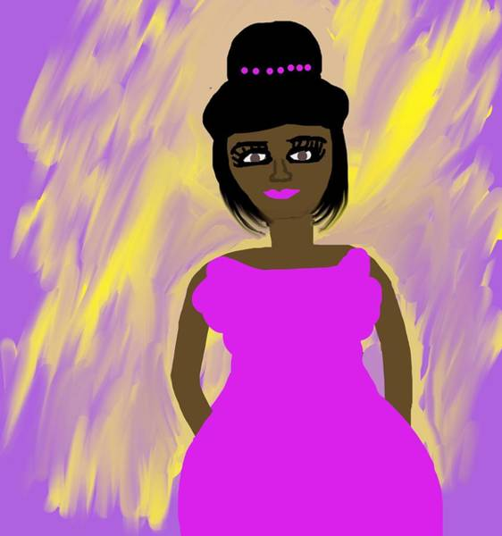 Wall Art - Digital Art - Princess Augustine  by Joan Ellen Kimbrough Gandy