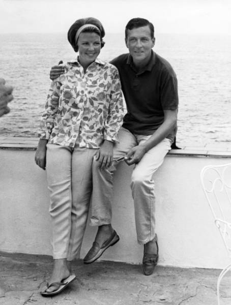 Porto Ercole Photograph - Princess Beatrix Of Holland And Claus by Keystone-france