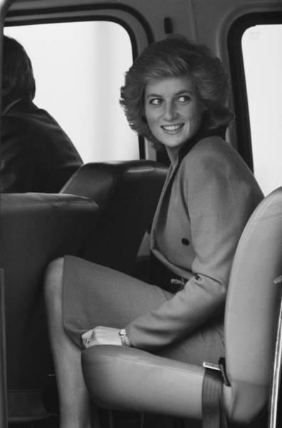 Looking Down Wall Art - Photograph - Princess Diana by John Downing