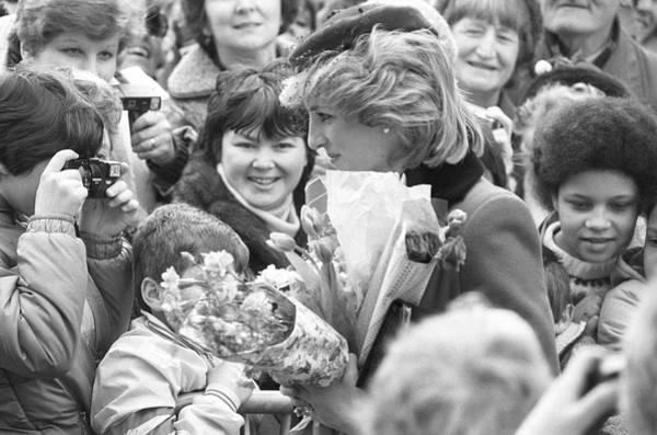 Photograph - Princess Diana Walkabout by Reg Lancaster