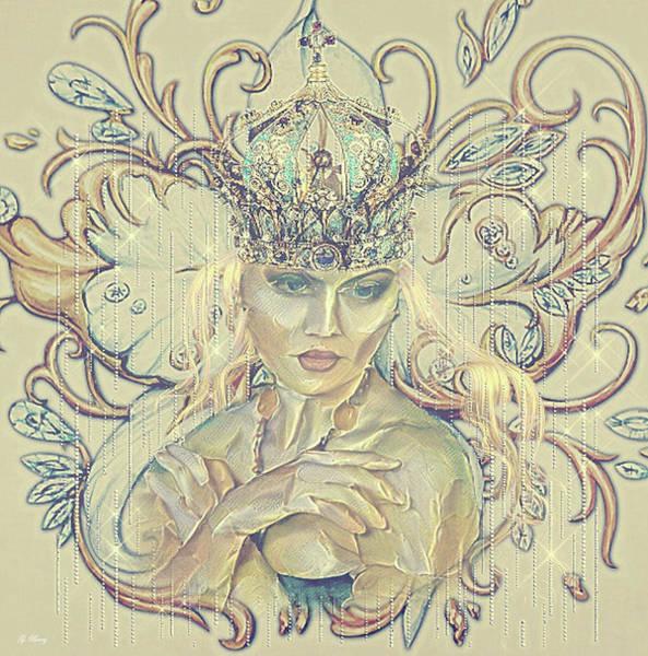 Wall Art - Mixed Media - Princess Dreams 01 by G Berry