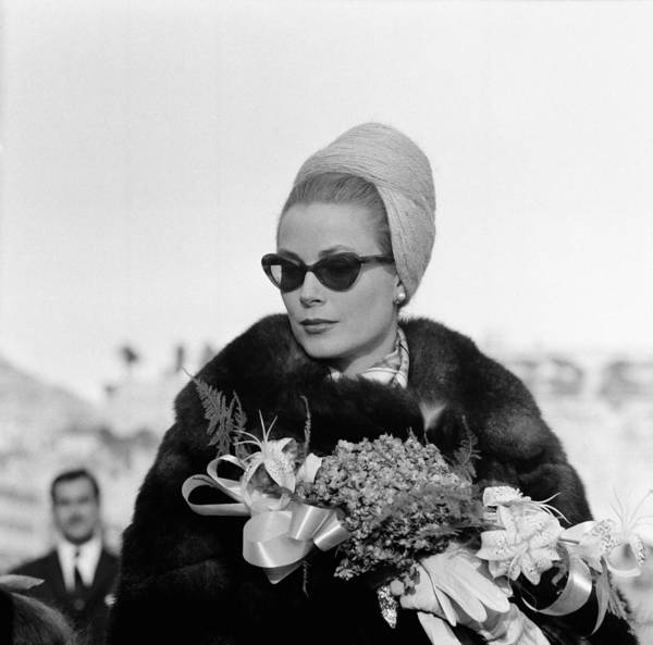 Photograph - Princess Grace Of Monaco by Keystone-france