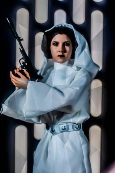 Episode 4 Wall Art - Digital Art - Princess Leia by Jeremy Guerin