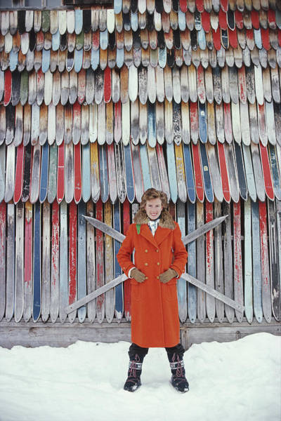 Vertical Photograph - Princess Ruspoli by Slim Aarons