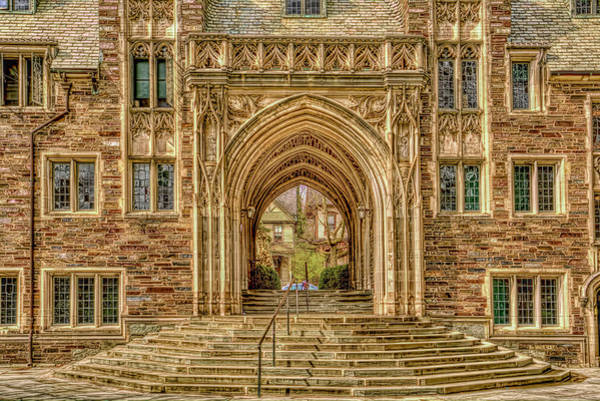 Wall Art - Photograph - Princeton Arches And Entrances At Princeton New Jersey by Geraldine Scull