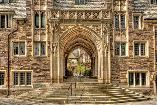 Wall Art - Photograph - Princeton University Gothic Arches And Doorways  by Geraldine Scull