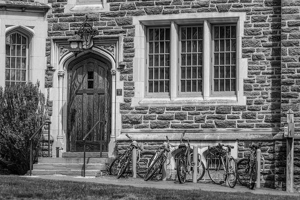 Photograph - Princeton University Patton Hall  Bw by Susan Candelario