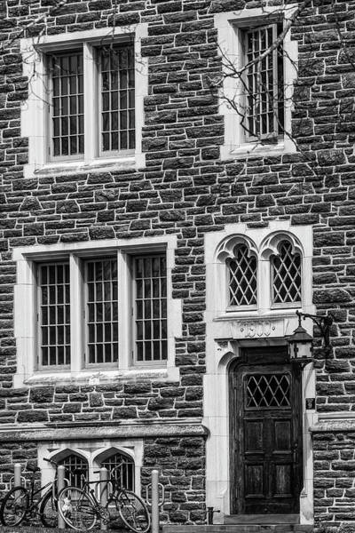 Photograph - Princeton University Patton Hall No 9 Bw by Susan Candelario