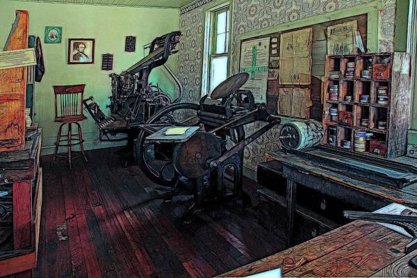 Wall Art - Photograph - Print Shop by Mike Flynn