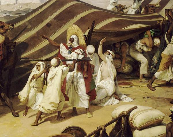 Wall Art - Painting - Prise De La Smala D'abd-el-kader, 16 Mai 1843 by Emile Jean Horace Vernet
