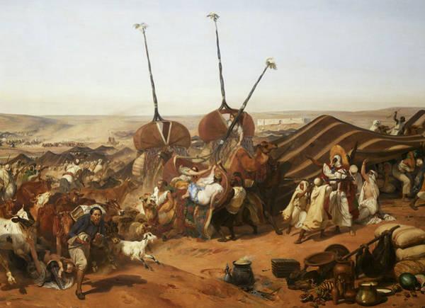 Wall Art - Painting - Prise De La Smalah D'abd-el-kader, 1843 by Emile Jean-Horace Vernet