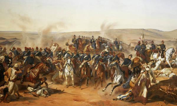 Wall Art - Painting - Prise De La Smalah D'abd-el-kader, 1843 by Horace Vernet
