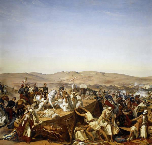 Wall Art - Painting - Prise De La Smalah D'abd-el-kader, Le 16 Mai 1843 by Emile Jean Horace Vernet