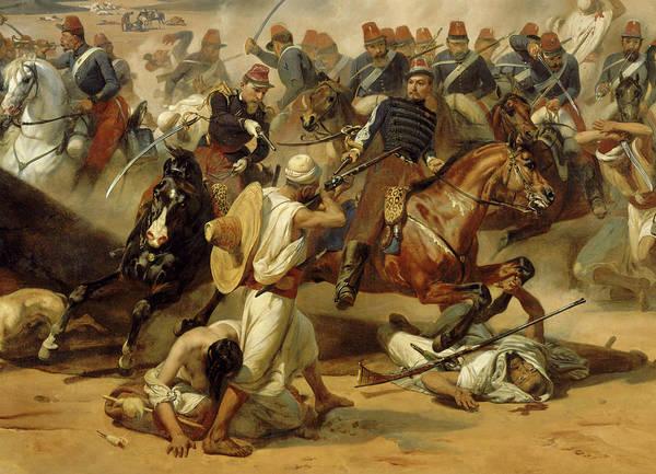 Wall Art - Painting - Prise De La Smalah D'abd-el-kader, Le 16 Mai 1843 by Horace Vernet
