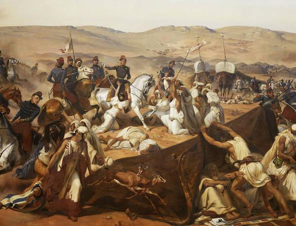 Wall Art - Painting - Prise De La Smalah D'abd-el-kader Le 1843 by Horace Vernet